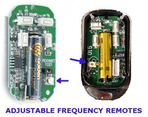 Adjustable Frequency Remote