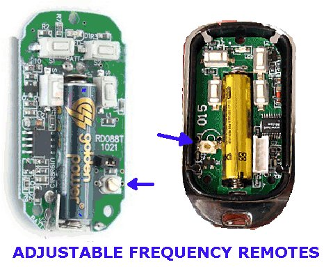Great Adjustable Frequency Remote