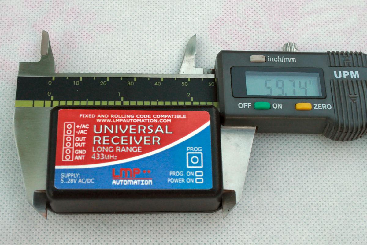 Rxu01 Universal Receiver Premium 433mhz